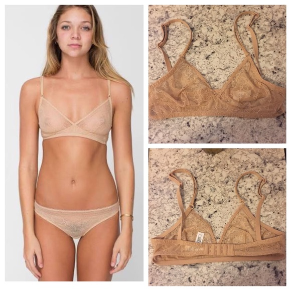 5469fc6010 American Apparel Other - Abstract Lace Bralette