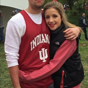 "Comfort Colors Tops - IU ""Hoosier Tailgate""ComfortColors Long Sleeve NWT"