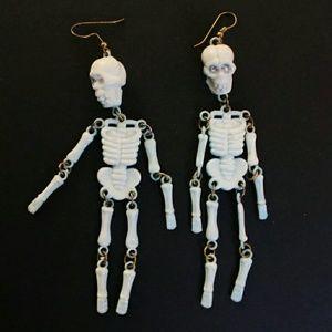 Jewelry - Skeleton earrings