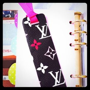 Louis Vuitton Accessories - Bookmark made with Authentic LV Canvas