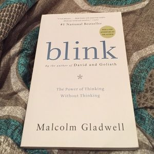 Book Other - Blink by Malcolm Gladwell