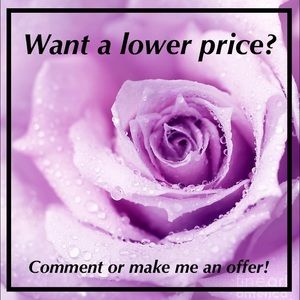 Other - Let's negotiate a price that'll satisfy us both!