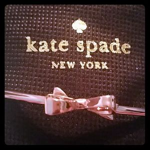NWOT Kate Spade Love Notes Bow Rose Gold Bracelet