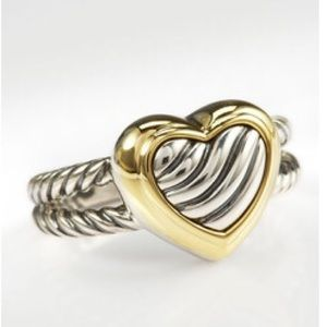 David Yurman Cable Heart Ring