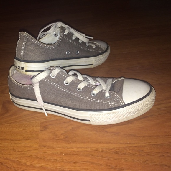 50 off converse shoes gray converse from karsyn 39 s - Graue converse ...