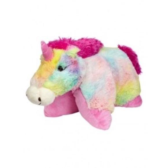 other rainbow unicorn pillow pet poshmarkrainbow unicorn pillow pet m_55c6e6392035ea03bf0096ed