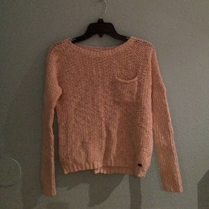 Cute knitted sweater!