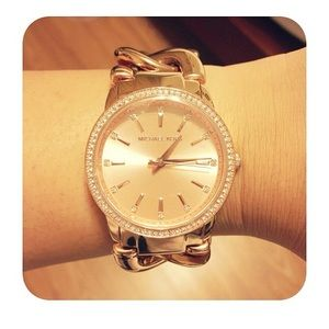 Michael Kors Lady Nini Chain Link Watch