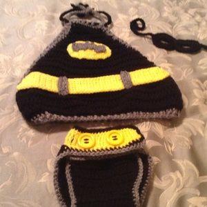 Mara Hoskin Design - Crochet Batman diaper cover outfit ...