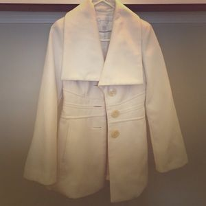 Winter white Jessica Simpson coat