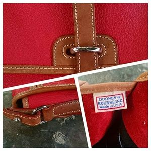 Dooney & Bourke Handbags - Vintage Red D & B Shoulder