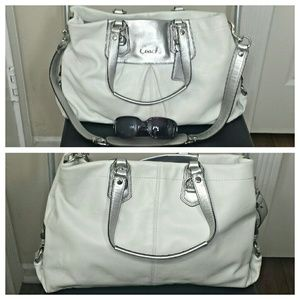 ... where can i buy coach bags price drop coach ashley leather carryall  ef236 0b1c4 ... 2b0ab194f2063