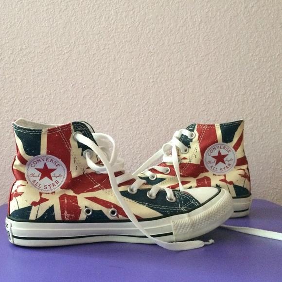 8cf7bb260808 Converse Shoes - Union Jack (British Flag) Converse High Tops