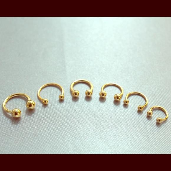 9de029b55 gold plated horseshoes circular barbell. M_55c78ad72a753525a200b305