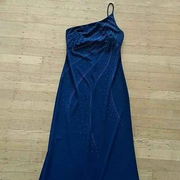 Rampage - Midnight Blue Gown from Demi's closet on Poshmark