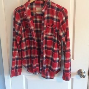 Abercrombie flannel