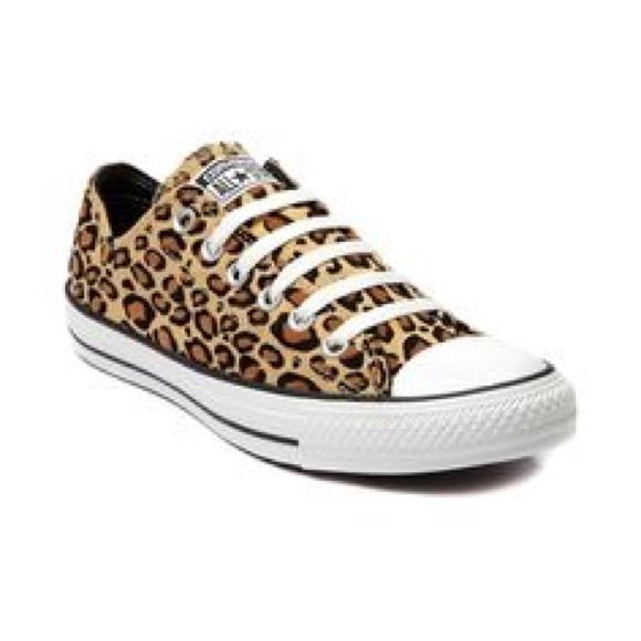 3c85c8a0f005 Converse Shoes - Leopard Converse