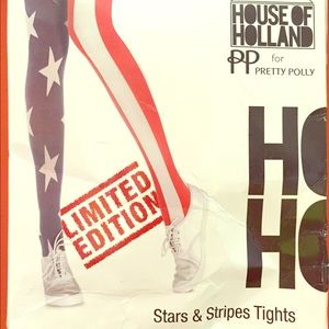 House of Holland Pants - House of Holland Stars & Stripes Tights