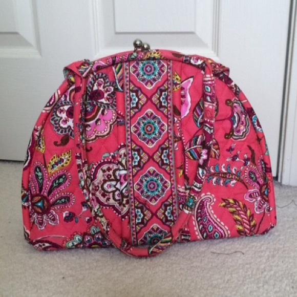 257b24cf6c53 [vera bradley] call me coral eloise clasp bag