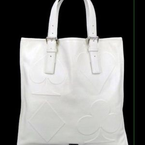 MCM Handbags - 🎉EMail Pick MCM Assouline White leather tote NWT