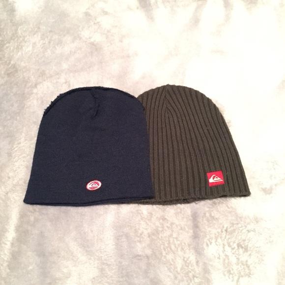 78e4a87a694 Quicksilver knit winter hat bundle. M 55c7a125bab32d653e00bc1a
