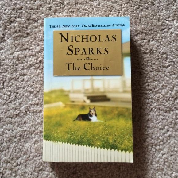 choice nicholas book the sparks