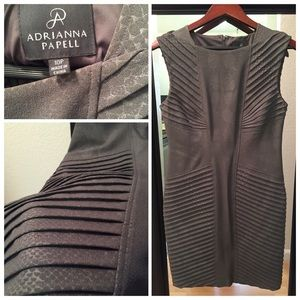 Adrianna Pappell gray dress