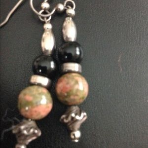 Jewelry - Sterling silver onyx and more earrings