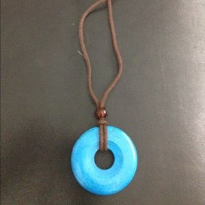 3 for $20 /Turquoise Necklace on a Cord