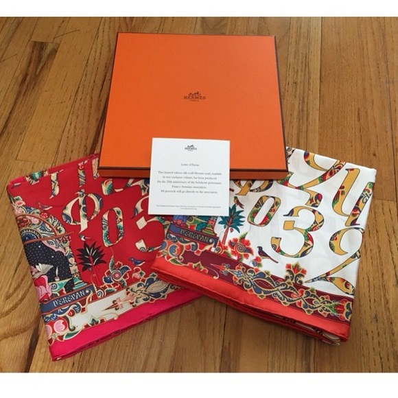 33 Off Hermes Accessories Herm 232 S Scarf With Armenian
