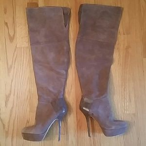 Steve Madden Shoes - Suede thigh high boots