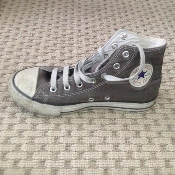 d7ae71e7de4f Converse Shoes - Grey Chuck Taylors - petite feet