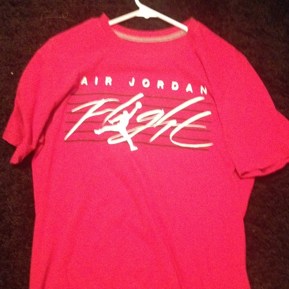 mens pink jordan shirt