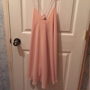 Asos size 4 pale pink dress