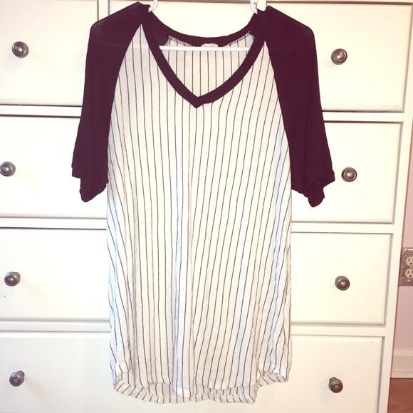 cba0cca4d8b1 Brandy Melville Dresses & Skirts - Brandy Melville Baseball T-Shirt Dress