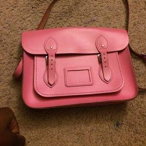 The Cambridge Satchel Company Handbags - Cambridge satchel pink leather bag 14 inches
