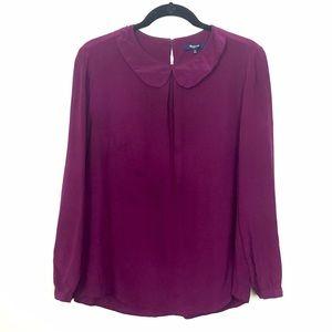Madewell Tops - Madewell silk blouse.