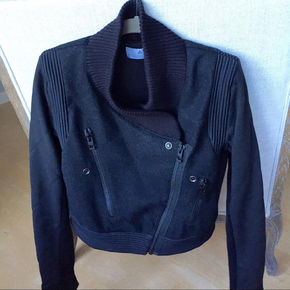 568b283bae8 Adidas by Stella McCartney Jackets   Blazers - Stella McCartney for Adidas  Moto-style jacket