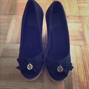 Brand new Tory Burch Jackie espadrille wedge