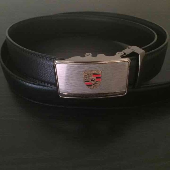 Accessories | Porsche Logo Automatic Leather Belt | Poshmark on batman logo belt, bmw logo belt, mercedes benz logo belt, lamborghini logo belt, porsche design belt, subaru logo belt, porsche design sneakers, porsche martini racing belt, porsche black belt,