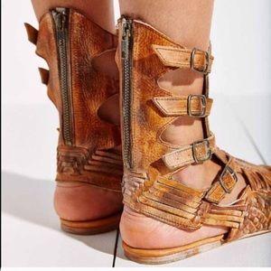 492baa53089a7 Urban Outfitters Shoes - Bed Stu Aurella Tall Huarache Sandal