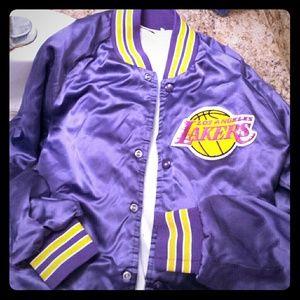 Jackets Coats Vintage La Lakers Jacket Poshmark