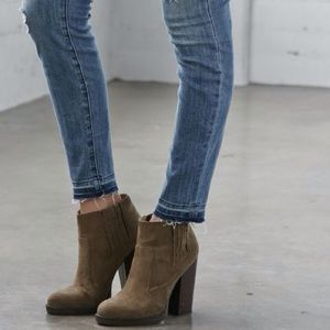 Ankle heel boot