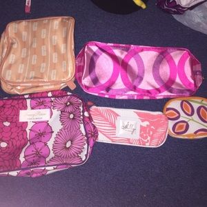 5 Clinique make up bags!