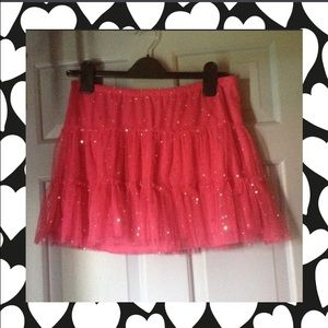Justice Other - 👠JUSTICE HOT PINK SPARKLE SKIRT👠