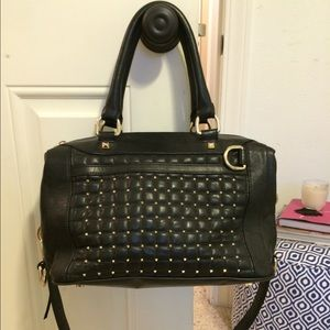 Rebecca Minkoff Quilted Mab Mini studded satchel