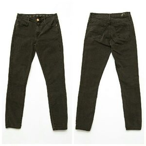 Earnest Sewn Dark Gray Skinny Jeans