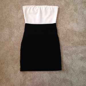 poof couture  Dresses & Skirts - Black and white dress