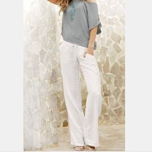 Victoria's Secret linen beach pants