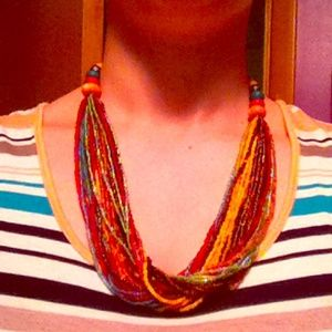 Jewelry - Colorful Bead Necklace